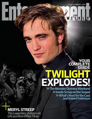 Robert Pattinson EW DEC 5, 2008